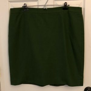 J Crew Pencil Skirt Size 18